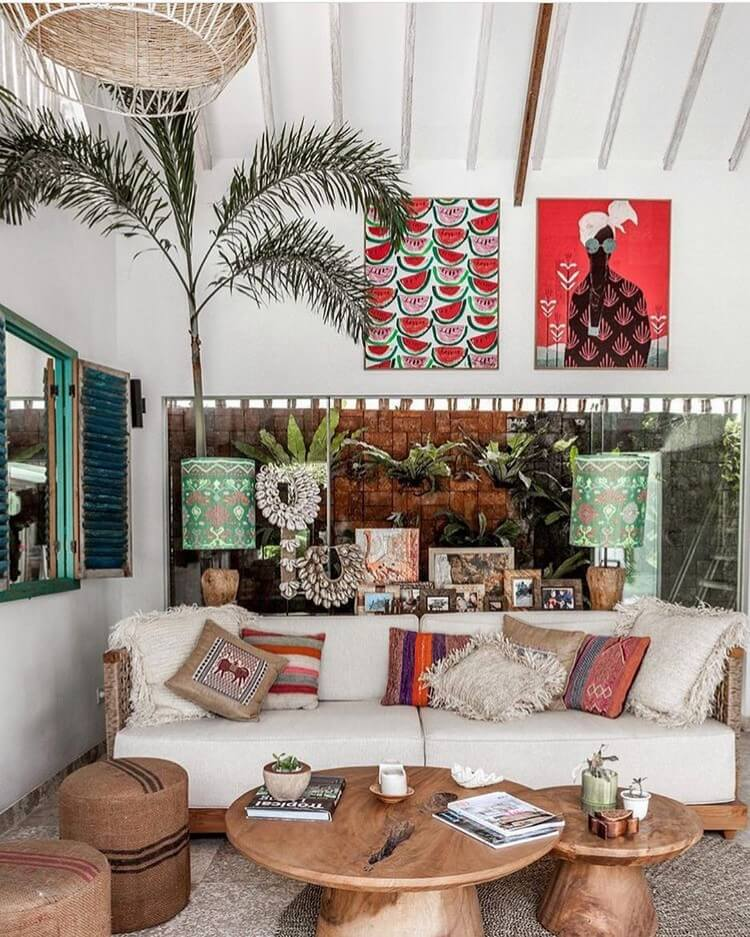 Stunning Bohemian Home Interior For This Year (2)
