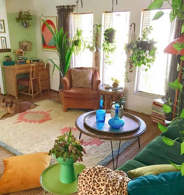 Stunning Bohemian Home Interior For This Year (27)