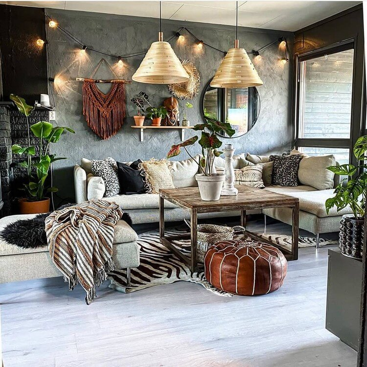Stunning Bohemian Home Interior For This Year (29)