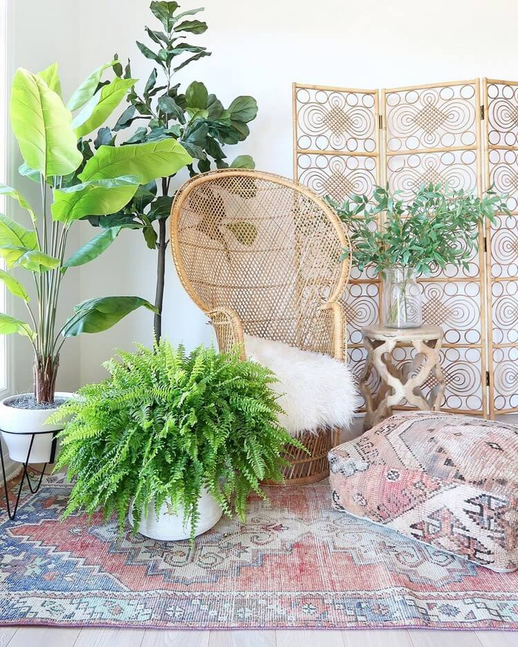 Stunning Bohemian Home Interior For This Year (33)