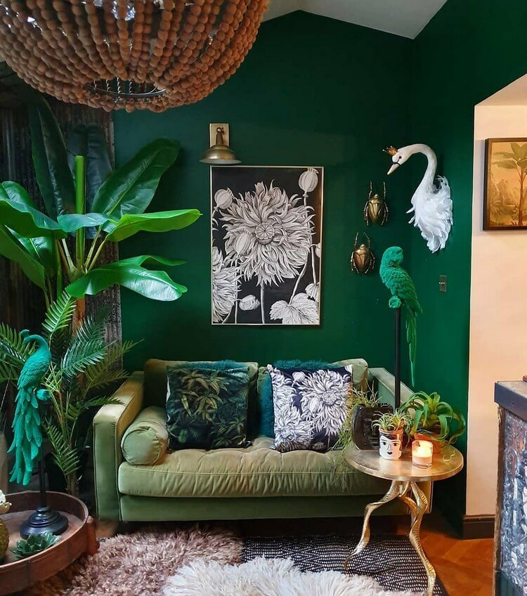 Stunning Bohemian Home Interior For This Year (36)
