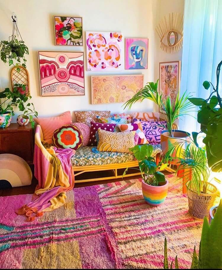 Stunning Bohemian Home Interior For This Year (37)