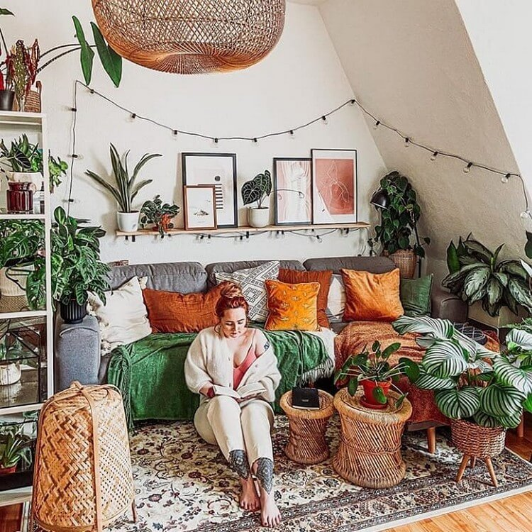 Stunning Bohemian Home Interior For This Year (45)