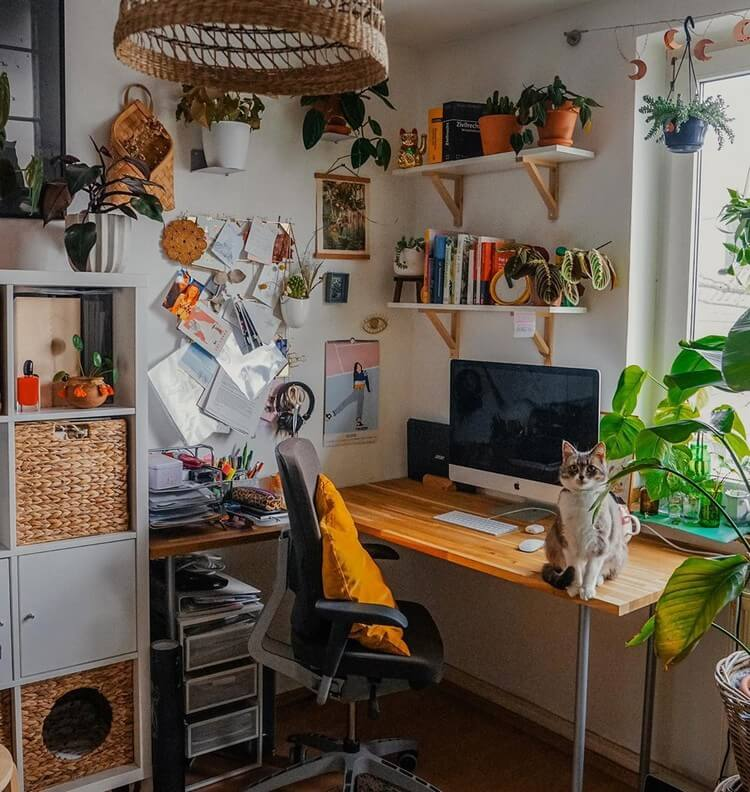 Stunning Bohemian Home Interior For This Year (49)