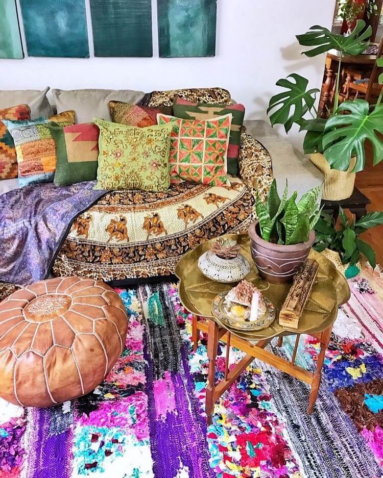 Stunning Bohemian Home Interior For This Year (5)