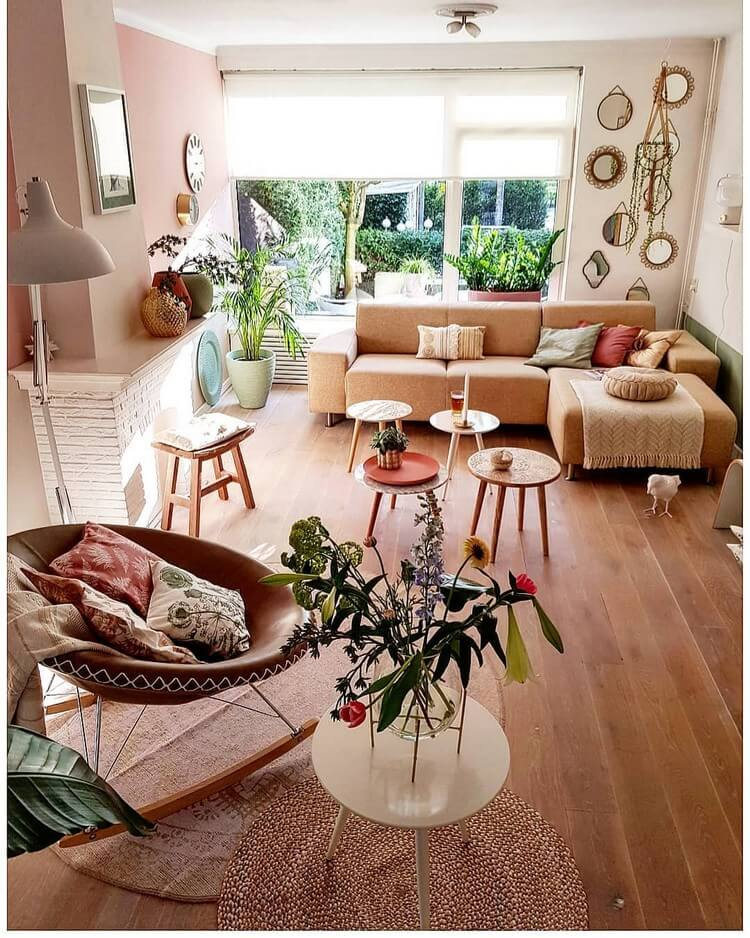 Stunning Bohemian Home Interior For This Year (7)