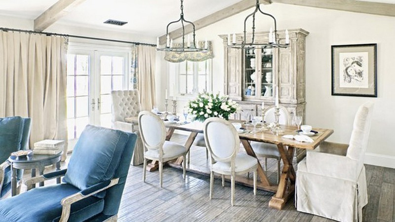 Amazing Shabby Chic Dining Room Interior Home Decor