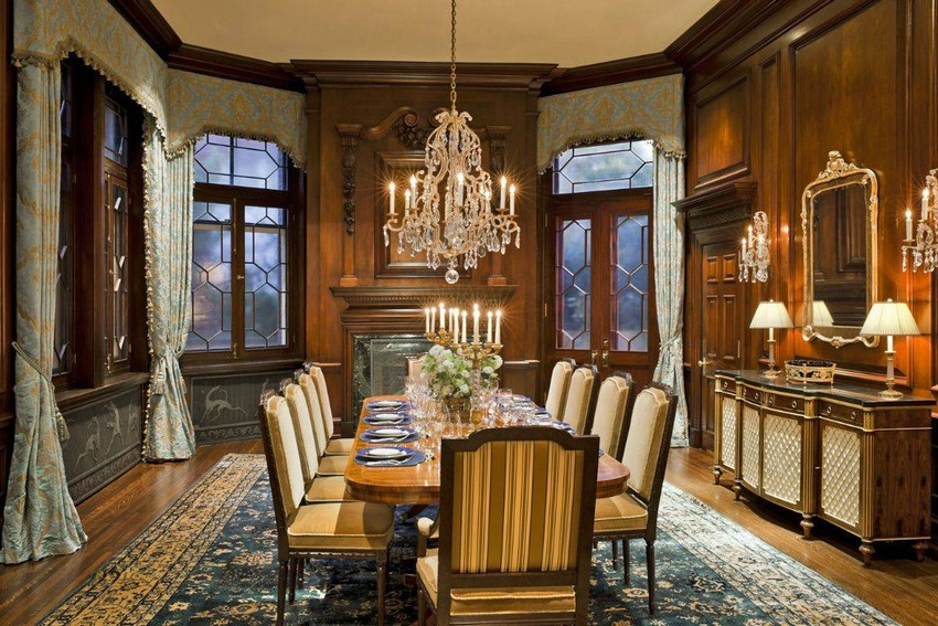 Amazing Victorian Style Dining Room Furniture Set