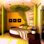 Awesome Design of Bedroom for Women with Round Bed