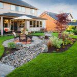 Backyard Design with Rocks