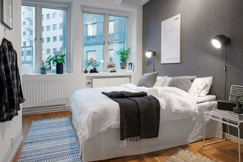 Bedroom Design in Scandinavian Style Bedroom Decor
