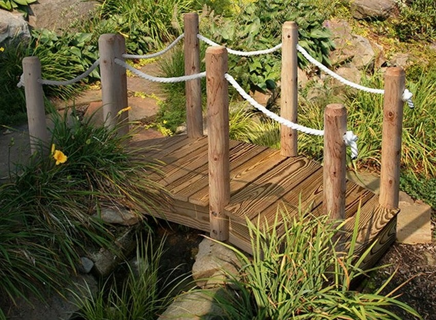 Bridge Ideas for Home Garden