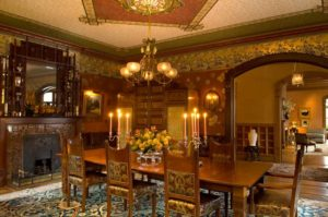 Classic Victorian Style Dining Room