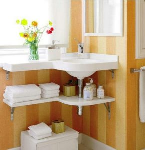 Creative Bathroom Storage for Small Space