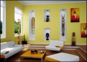 DIY Modern Living Room Decoration