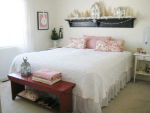 Elegant White Cozy Bedroom
