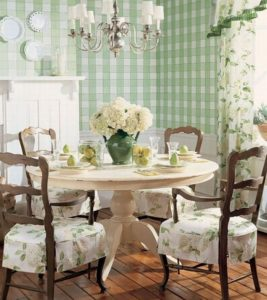 French Country Shabby Chic Dining