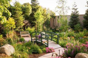 French Elegant Garden Bridge
