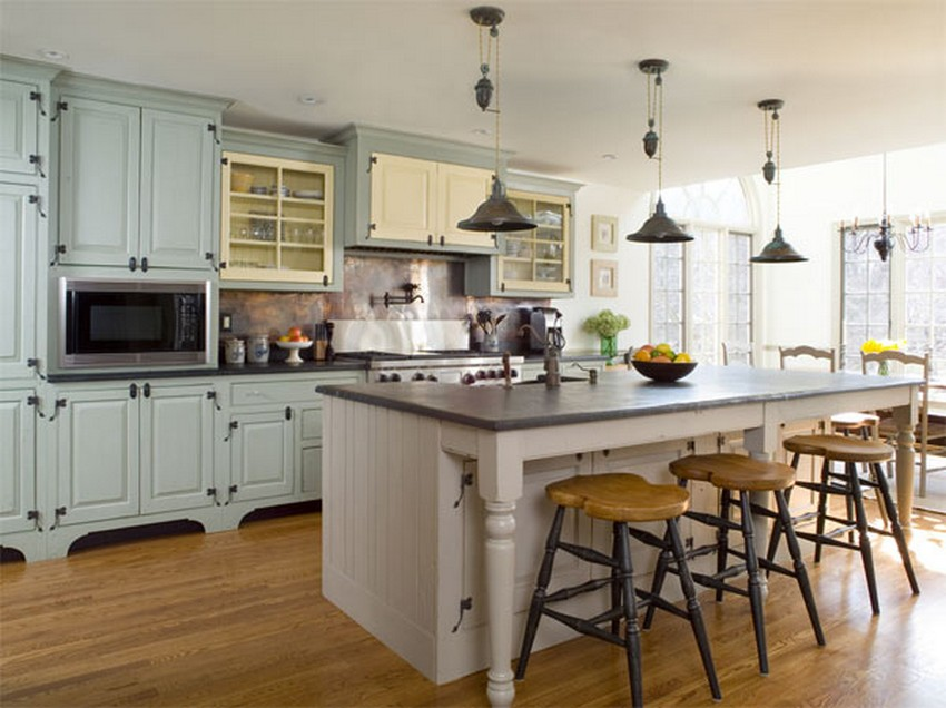 French Style Kitchen Island