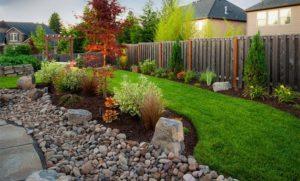 Garden Decor with Rocks