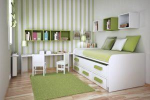 Green Themed Kids Room Decor