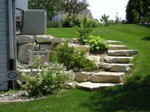Landscape Garden Stair Ideas