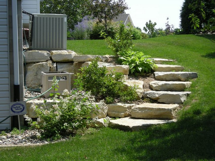 Landscape Garden Stair Ideas