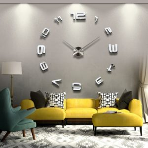Large Wall Clock Contemporary for Living Room