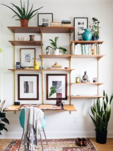 Living Room Wall Decor Shelves