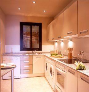 Luxury Galley Kitchen Remodel