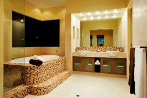 Modern Bathroom Lighting Idea