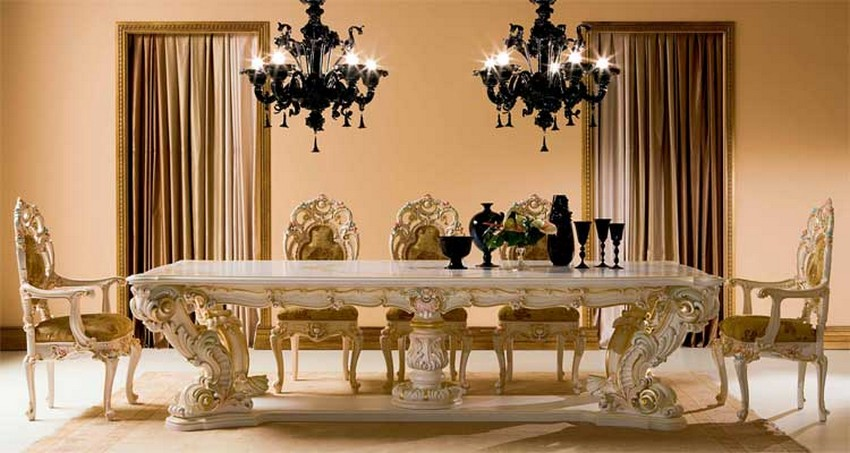 Modern Victorian Style Dining Room