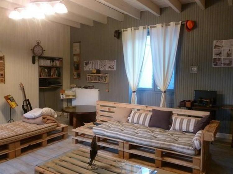 Pallet Living Room Furniture Ideas