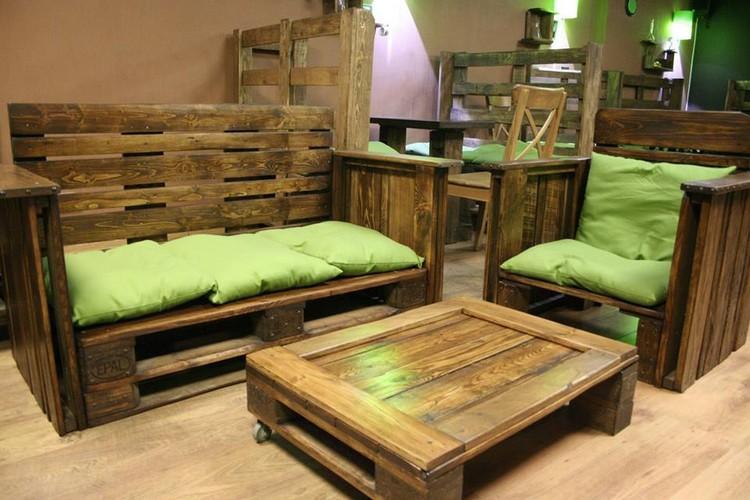 Pallet Living Room Furniture Set