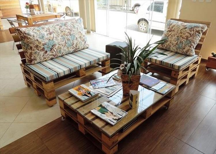 Pallet Living Room Sitting Furniture