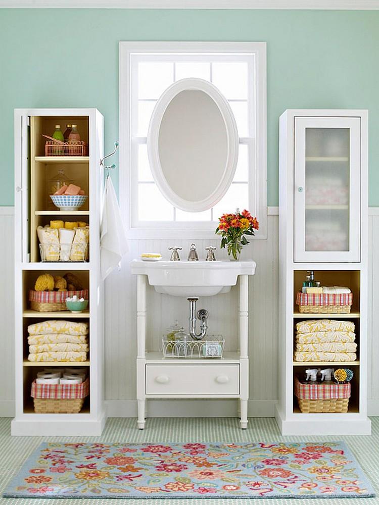 Pretty Bathroom Storage Ideas for Small Spaces