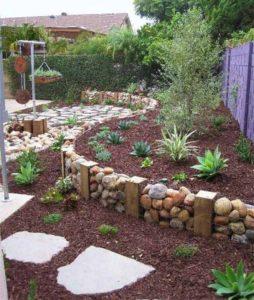 Rock Stones Garden Decor