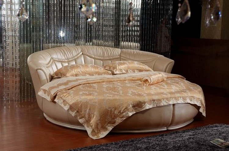 Round Bed Design Ideas for Bedroom Decor