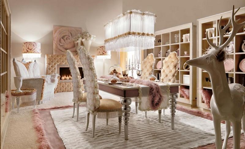 Shabby Chic Dining Room Decoration