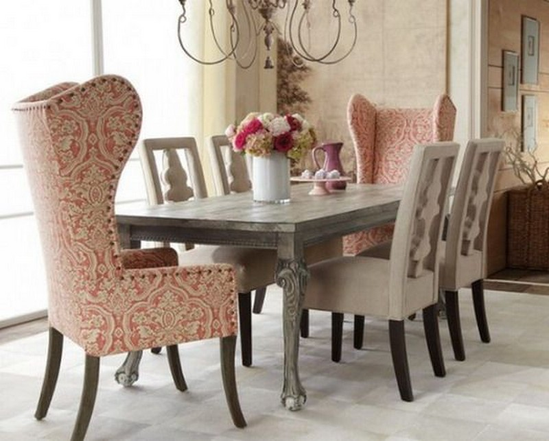 Shabby Chic Dining Room Designs