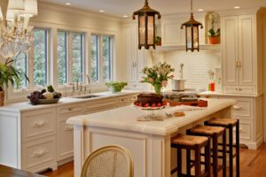 Shabby Chic Style Country Kitchen