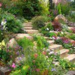 Landscape Design Garden Stairs