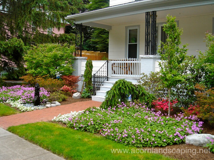 Traditional Landscapr Garden Ideas