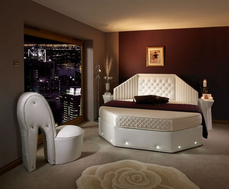 Unique Designs of Round Bed for Bedroom Decor