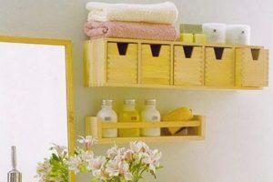 Wonderful Bathroom Storage Idea for Small Spaces