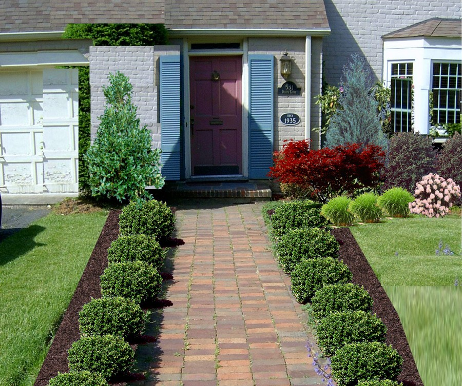 Wonderful Front Yard Landscape Ideas