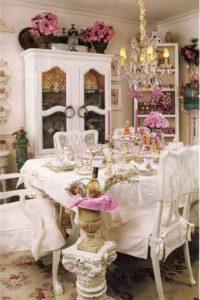 Wonderful Shabby Chic Dining Room Designs