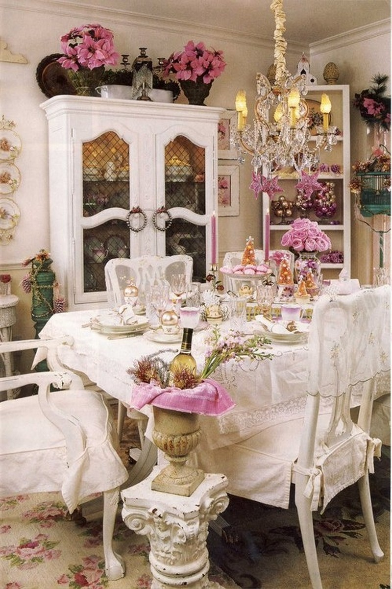 Wonderful Shabby Chic Dining Room Designs