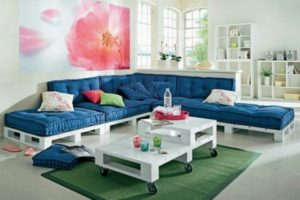Wooden Pallet Living Room Furniture