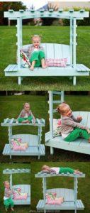 Pallet Kids Arbor Bench